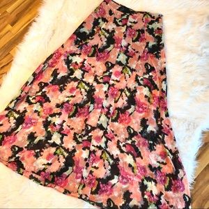 Show Me Your MuMu Floral Sheer Maxi Skirt